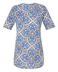 Print Jersey Tunic