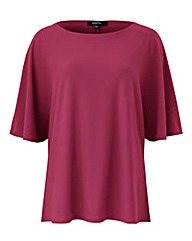 Berry Batwing Top