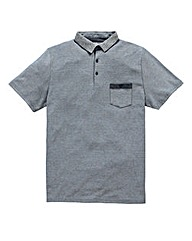 Flintoff By Jacamo Stripe Polo Reg