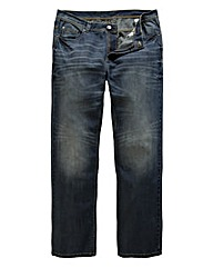Flintoff by Jacamo Straight Jeans 31in