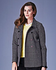Jacquard Swing Jacket