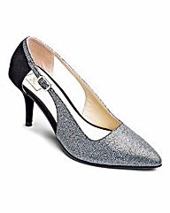 Sole Diva Cut Out Court Shoe E Fit