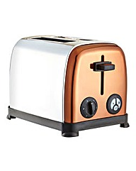 JDW Copper and Stainless Steel Toaster