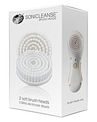 Rio Sonicleanse Pack of 2 Brush Heads
