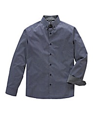 Black Label By Jacamo L/S Elwick Shirt L