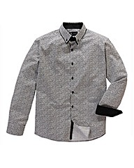 Black Label By Jacamo Monte L/S Shirt L