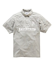 Lambretta Embroidery Logo Polo Regular