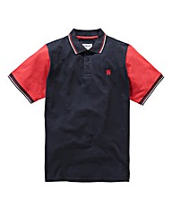 Lambretta Block Polo Long