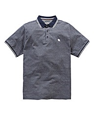 Bellfield Tex Jacquard Polo