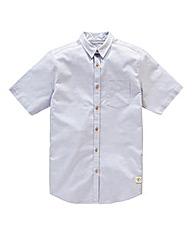 Bellfield Short Sleeve Slub Shirt