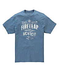 Firetrap Rivington T-Shirt Long