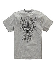 Firetrap Pitt T-Shirt Long