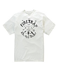 Firetrap Trader T-Shirt Long