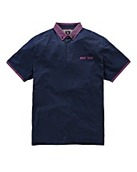 Black Label By Jacamo Curtis Trim Polo L