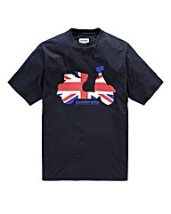 Lambretta Jack Scooter T-Shirt Long