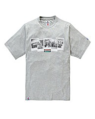 Lambretta Polaroid T-Shirt Long