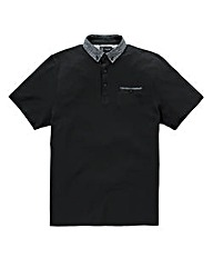 Black Label by Jacamo Black Jaden Polo L
