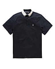 Black Label by Jacamo Navy Lucas Polo L