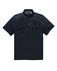 Black Label by Jacamo Navy Hunter Polo L