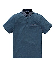 Black Label by Jacamo Teal Linc Polo R