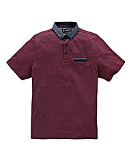 Black Label By Jacamo Berry Linc Polo L
