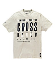 Crosshatch Vintage One Cream T-Shirt