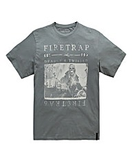 Firetrap Mort T-Shirt Long