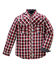 Firetrap Carlton Check Shirt Long