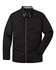 Black Label By Jacamo Windsor Shirt L