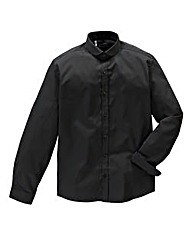 Black Label by Jacamo Blk Penny Shirt L