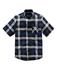 Label J Flannel Check S/S Shirt Long