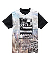 Label J Manhattan Club T-shirt Long