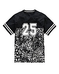 Label J Leopard 25 T-Shirt Long