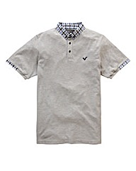 Voi Lewis Grey Marl Polo Long