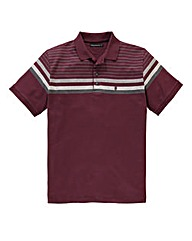 French Connection Top Stripe Polo Shirt