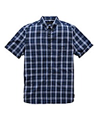 French Connection Navy Check Shirt