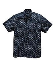 French Connection Floral Navy Shirt