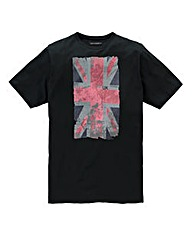 French Connection Union Black T-Shirt