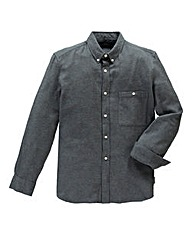 French Connection Flannel Charcoal Shirt