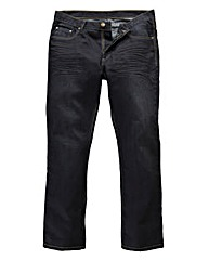 Flintoff by Jacamo Coated Jeans 33in