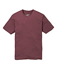Jacamo Dallas Crew Neck Tee Long