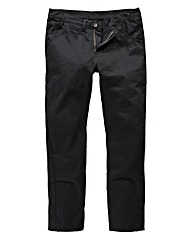Label J Black Hoxton Chinos 29 Inch Leg