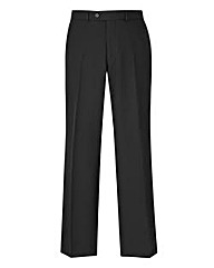 Flintoff By Jacamo Black Trousers 33in