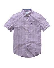 Original Penguin Gingham Purple Shirt