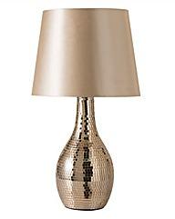 Rose Gold Mosaic Table Lamp
