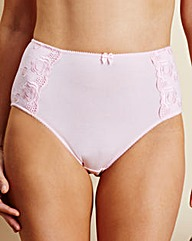 Pink Cotton Comfort Full Fit Briefs