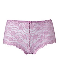 Daisy Lace Lilac Shorts