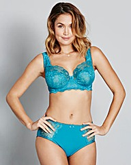 Teal/Pink Two Pack Ella Full Cup Bras