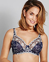 Vienna Luxe Full Cup Navy/Ivory Bra