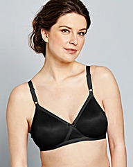 2 Pack Claire Non Wired Skin/Black Bras